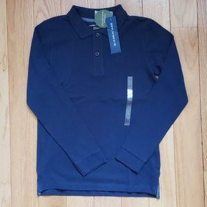 NWT Boys Monoprix Teen Bio Long Sleeve Shirt